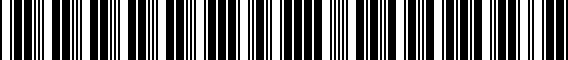 Barcode for 000071734DDSP