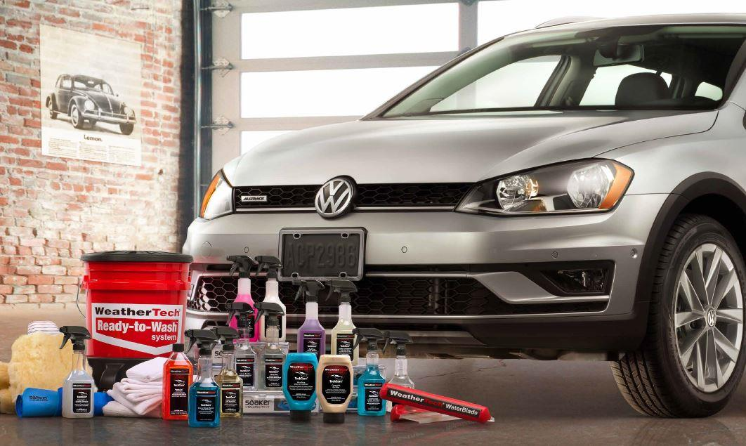 Diagram WeatherTech® TechCare® Launch Package for your 2017 Volkswagen GTI