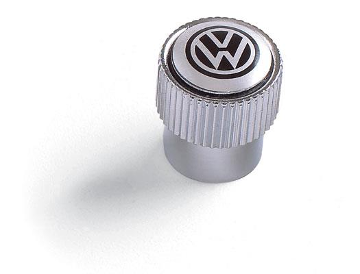 Diagram Valve Stem Caps - Black on Silver (ZVW355005A) for your 2006 Volkswagen Touareg